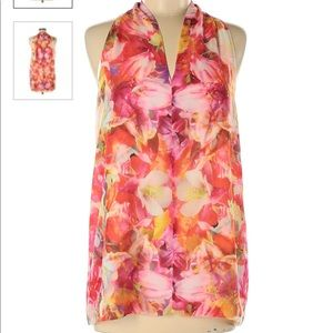 New w/o tags - Vince Camuto Floral Blouse